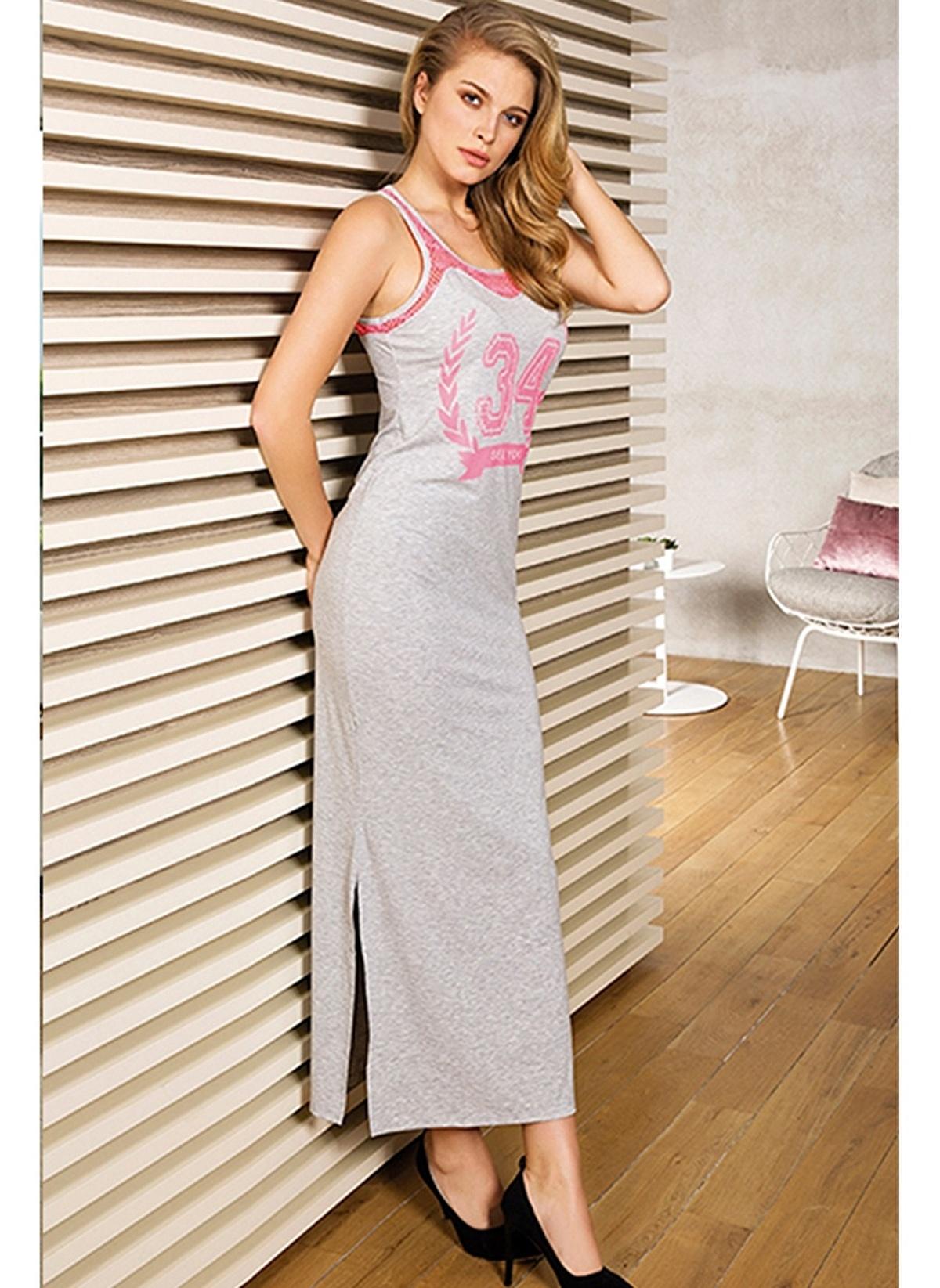 4e047c3216c64 Anıl Kadın Kadın Elbise Gri | Morhipo | 15045845